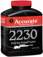 ACCURATE 2230 POWDER 1LB CANNISTER