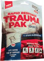 AMK RAPID RESPONSE TRAUMA PACK W/ QUIKCLOT