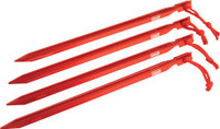 COLEMAN 9 HEAVY DUTY ALUMINUM TENT STAKES 4 STAKES PER PACK