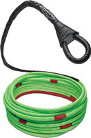 BUBBA ROPE WINCH LINE 1/4X40' SYNTHETIC ROPE WINCH USA MADE