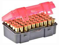 PLANO AMMO BOX .38/.357 50-RNDS FLIP TOP