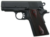 COL Single Action New Agent .45 ACP 3 Inch Blue Barrel Trench-Style Sights Rosewood Grips 7 Round