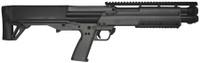 KEL KSG Kel Tec Shotgun 12 Gauge 18.5 Inch Barrel 2.75 Inch Chamber Picatinny Rails Dual Magazine Tubes Tungsten Finish 14 Rounds
