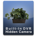 PalmVID Silk Plant Hidden Camera with Built-In DVR