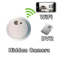 WiFi Smoke Detector Smoke Alarm Hidden Camera Spy Camera Nanny Cam