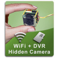 Hide it yourself hidden spy camera with dvr video recorder DIY kit