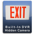 Exit Sign DVR Series Hidden Camera Nanny Cam