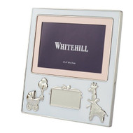 Baby Frame with Engraving Plaque - Whitehill