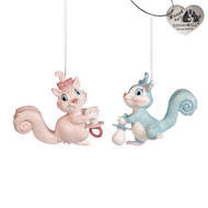 Baby Squirrel Ornament - Goodwill