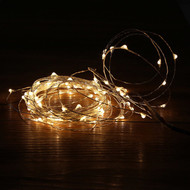 100pc LED Copper Fairy Lights - Warm White