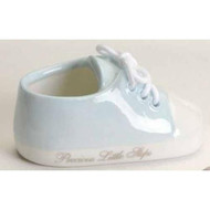 Baby Boy Blue Sneaker Shoe Ornament