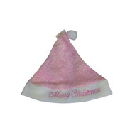 Baby's Pink Christmas Hat