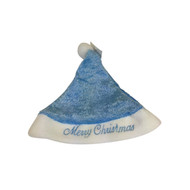 Baby's Blue Christmas Hat
