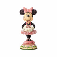 Jim Shore Minnie Mouse Nutcracker Statue