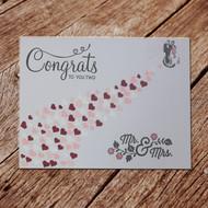 Wedding Congrats Handmade Card