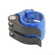 Nimbus DoubleQuick 31.8mm Seatpost Clamp - Blue