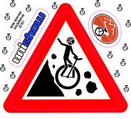 Muni Rockslide Bumper Sticker