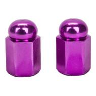Trik Topz Valve Caps Alloy Purple