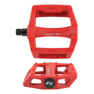 Fyxation Gates PC Pedals - Red