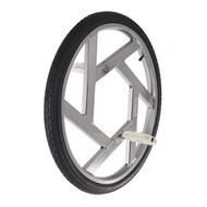 "Nimbus 24"" Ultimate Wheel - Silver"