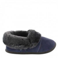 Navy with Silverfox Fur