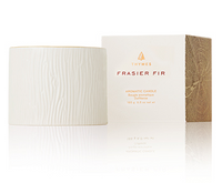 Thymes Frasier Fir Ceramic Poured Candle-Petite
