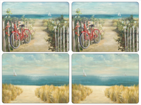 Pimpernel Summer Ride Placemats S/4 16x12""