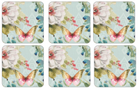 Pimpernel Colourful Breeze Coasters S/6 4x4