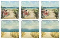 Pimpernel Summer Ride Coasters S/6 4x4