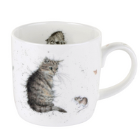 Portmeirion Wrendale Designs Cat and Mouse Mug
