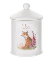 Portmeirion Wrendale Designs Fox Tea Canister