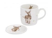 Portmeirion Wrendale Designs Gentle Jack Mug & Coaster Set