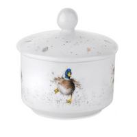 Portmeirion Wrendale Designs Guard Duck Sugar pot