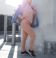 RBLL High  Waisted Blush 'Nude' Joggers