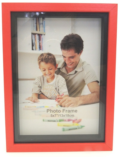 Shadow Box Frame Red 5x7 Endeavour Giftware 2018 Limited