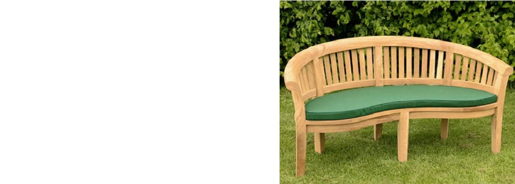 bench free cushion - Garden Furniture Teak