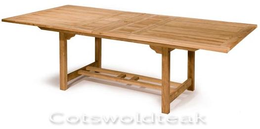 Rectangle Extending Table, click on link to read about the table. Link will open a new window.