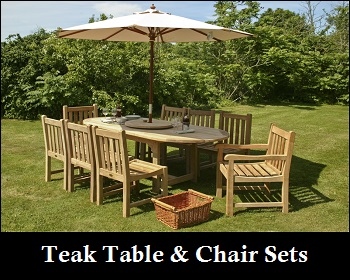 Click below to choose from one of our Teak Table \u0026 Chair Sets or Build your own Table \u0026 Chair combination to suit your needs. & Cheap Teak Garden Furniture Sets UK