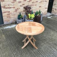 Stow Folding 90cm Round Table