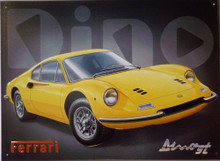 Photo of FERRARI  DINO SIGN HAS RICH COLORS AND VERY NICE DETAILS