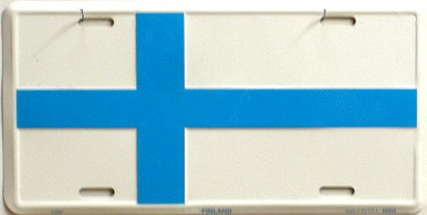 Photo of FINLAND LICENSE PLATE