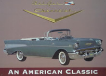 Photo of 57 CHEVY BELAIR CONVERTIBLE GREAT SIGN FOR THE BELAIR FAN