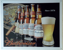 HISTORY OF BUDWEISER BEER SIGN