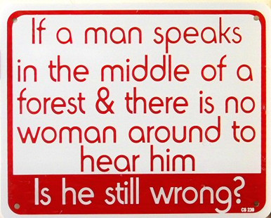 IF A MAN SPEAKS SIGN
