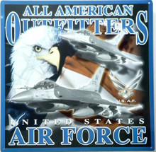 Photo of AIR FORCE POSTER SQUARE GREAT SIGN FOR AIRMEN & AIRWOMEN