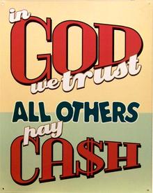 IN GOD WE TRUST SIGN