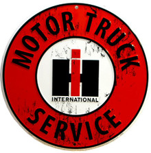 INTERNATIONAL TRUCK SIGN