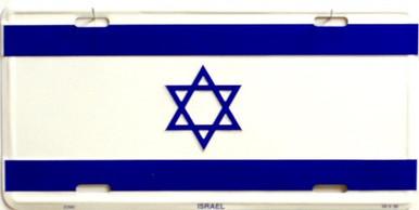 ISRAEL LICENSE PLATE
