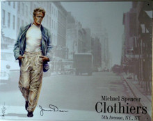JAMES DEAN CLOTHIER SIGN