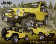 JEEP WRANGLER SIGN